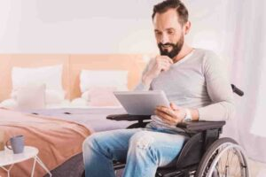 Free internet service for the disabled