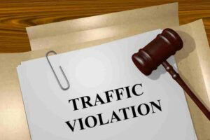 traffic ticket sent to collection agency
